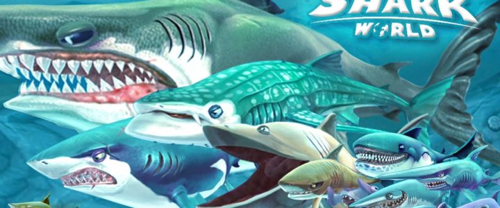 Amazing resource collector for the hungry shark world game