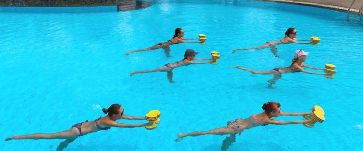 Swim for Exercise in Extreme Summer Heat