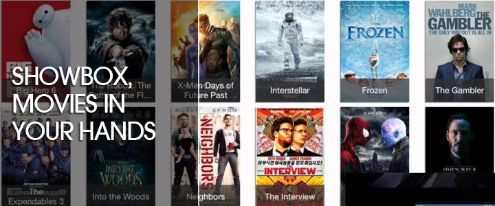 Showbox, Movies In Your Hands
